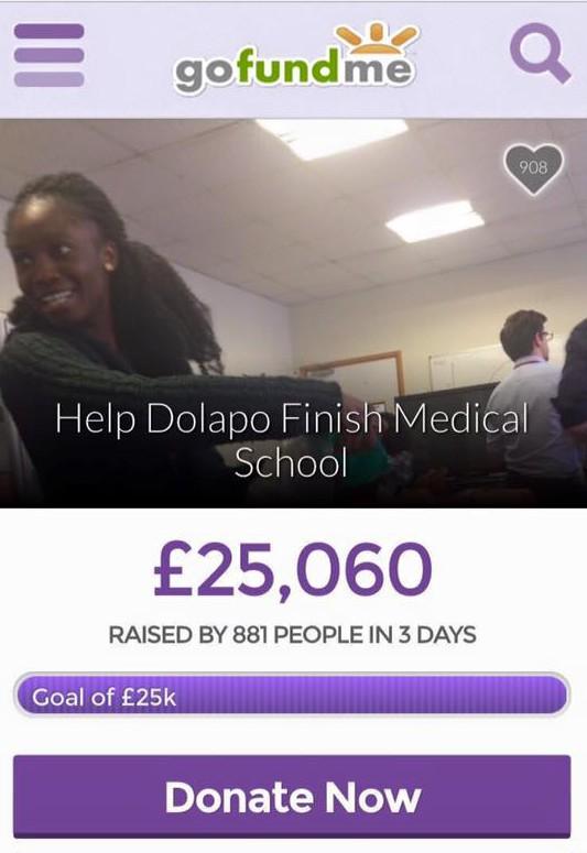 Support Dolapo